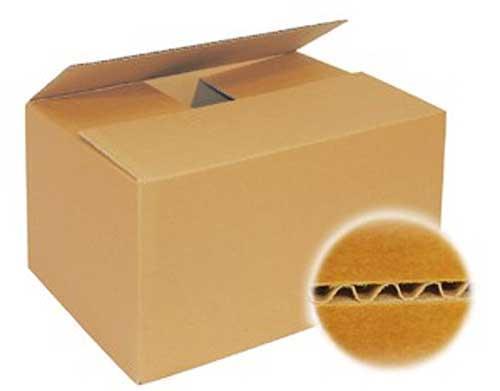 Karton Pappe einwellig
