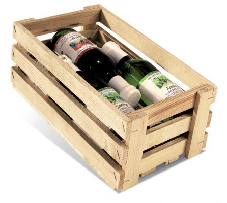 holzsteigen f r 6 flaschen 0 25 ltr boxbeutel ma e 241 x 175 x 110 mm. Black Bedroom Furniture Sets. Home Design Ideas