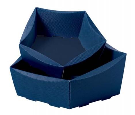 geschenkkorb leer royal dunkelblau mittel 25 st ck. Black Bedroom Furniture Sets. Home Design Ideas