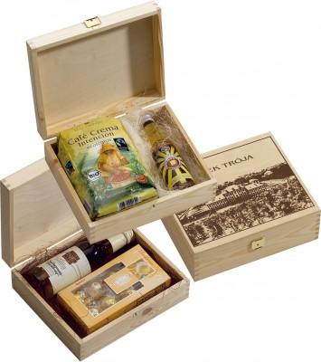 Holz Präsentkassette Holzbox