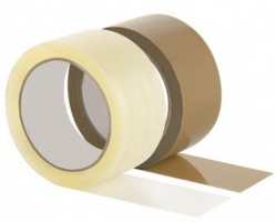 PP Packband 222, 50 mm x 66 m, transparent, leise abrollend VE 6 St.