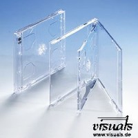 CD-Doppelhüllen Tray transparent VE: 50